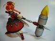リキッドストーン製 鉄槌の騎士ヴィータ